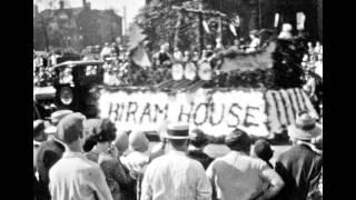 National Air Races Parade 1929 Cleveland Ohio Plain Dealer Flower Pageant FILM