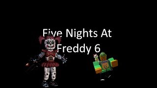 Roblox trungbui Five Nights At Freddy 6 Lefty Pizzeria