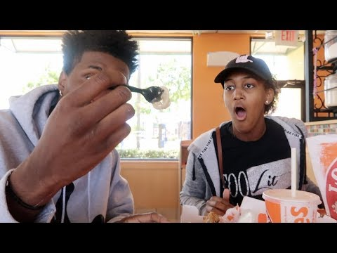 USED CONDOM IN FOOD PRANK ON KING FT NIQUE * HE WANTS TO SUE *