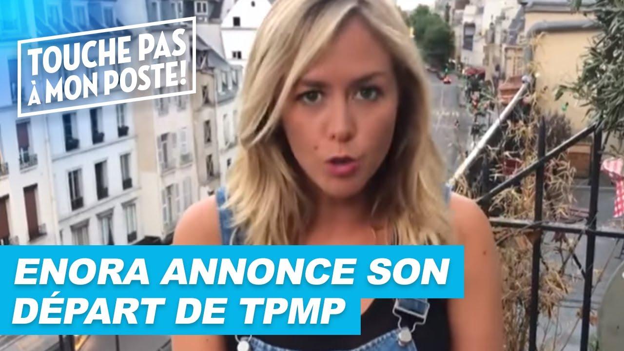 Enora Malagré annonce son départ de TPMP