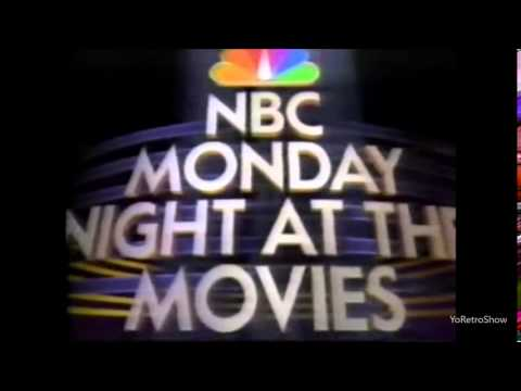 1990's Commercial   NBC Monday Night at the Movies Intro
