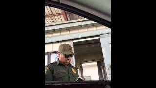 Border Patrol Officer Doesn