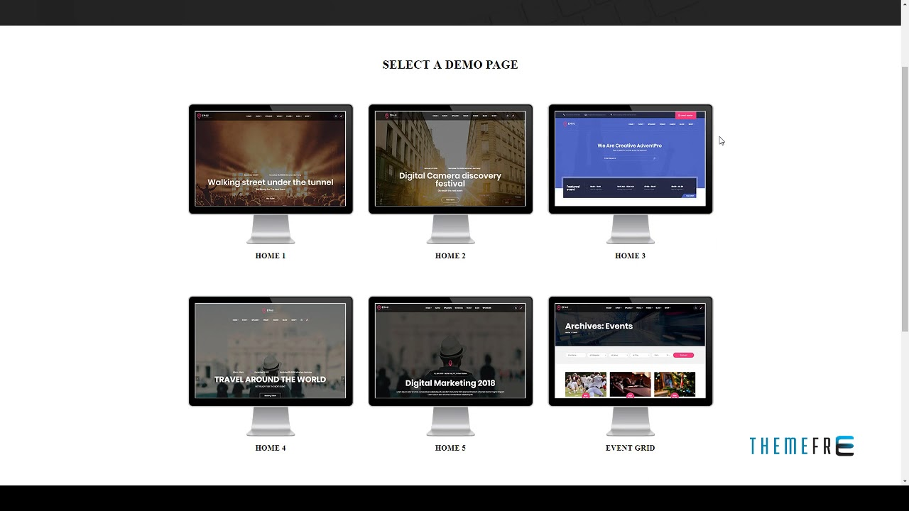 EM4U - Event Management Multipurpose WordPress Theme | Free Te - YouTube
