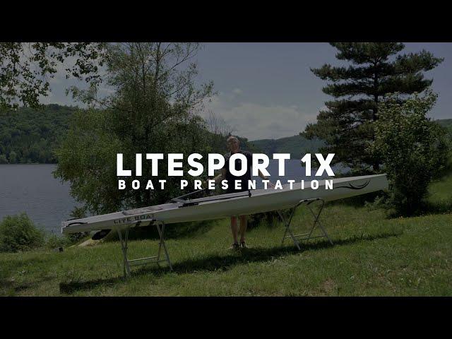 LiteSport 1X : un bateau d'aviron accessible à tous, et sur tout plan d'eau