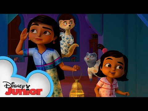 The Case of the Slumber Party Ghost | Mira, Royal Detective | @Disney Junior