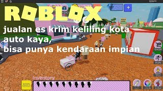 ROBLOX Indonesia Auto Rich ice cream Sale