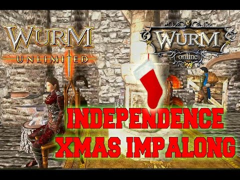 Wurm Online Wurm Unlimited   INDEPENDENCE XMAS IMPALONG  