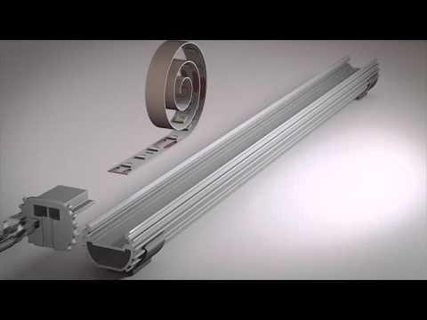 Rev A Shelf Infinex Extrusion Led Lighting System