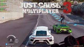 Just Cause 3 + Challenges + MP Just Cause 2 MP loads of fun