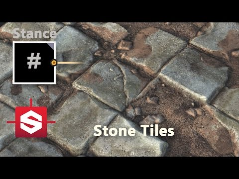 Stone Floor - Substance Designer Material Breakdown
