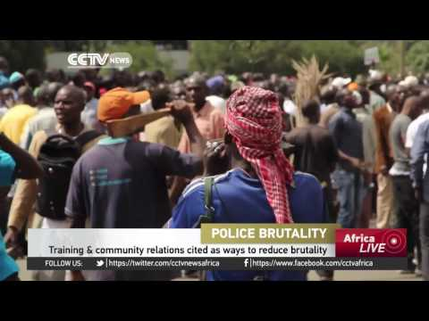Kenya police accused of violence during Monday's opposition protests