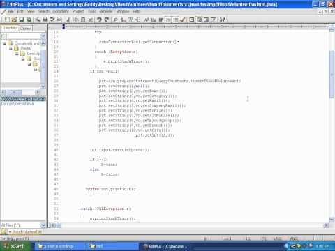 Java Real Time Coding Structure