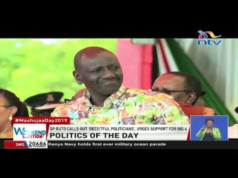 DP Ruto calls out 'deceitful' politicians as Raila urges Kenyans to support BBI