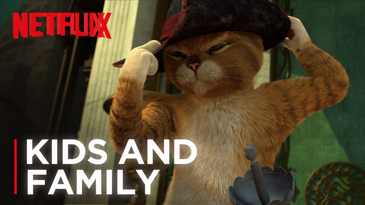 the adventures of puss in boots | trailer [hd] | netflix - youtube
