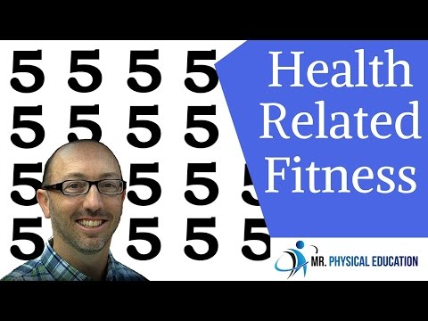 5 components of health related fitness #physed 101 #002