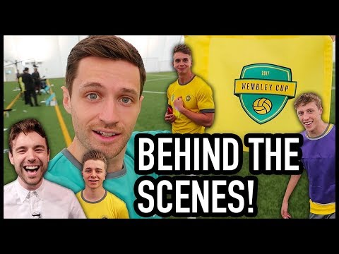 WEMBLEY CUP BEHIND THE SCENES!