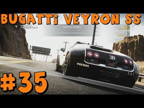 Need For Speed Rivals   Xbox One   Part 35   Bugatti Veyron SS Patrol Car