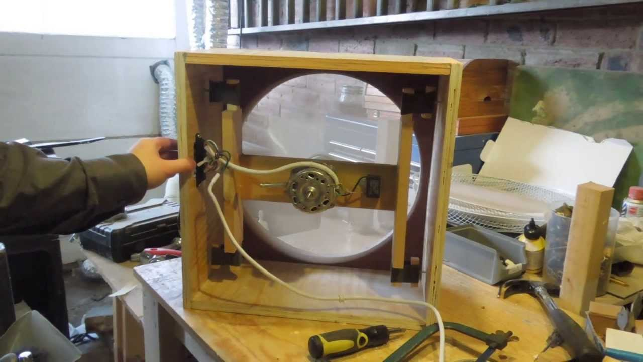 attic furnace ideas - Garage Ventilation Part 1 The Box Fan