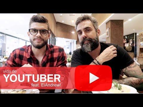 É possível viver de Youtube - Dicas do Andrew Pedroso do Canal EiAndrew