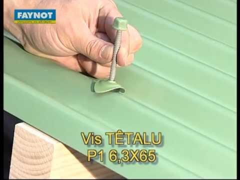 vis têtalu p1 autoperceuse 6,3x65 tk12 pour fixation de tôle