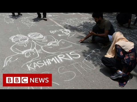 Kashmiris express anger at loss of special status - BBC News