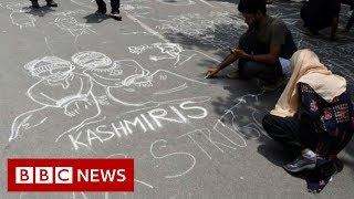 Kashmiris express anger at loss of special status - BBC News