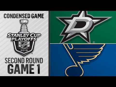 04/25/19 Second Round: Stars @ Blues
