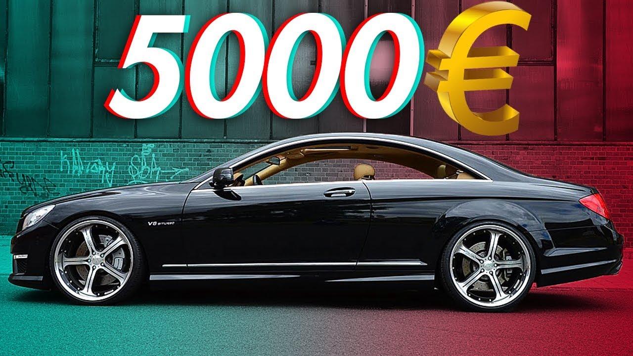 Die billigsten Fahrzeuge für Autoposer! | RB Engineering | Mercedes Benz C216 CL 500