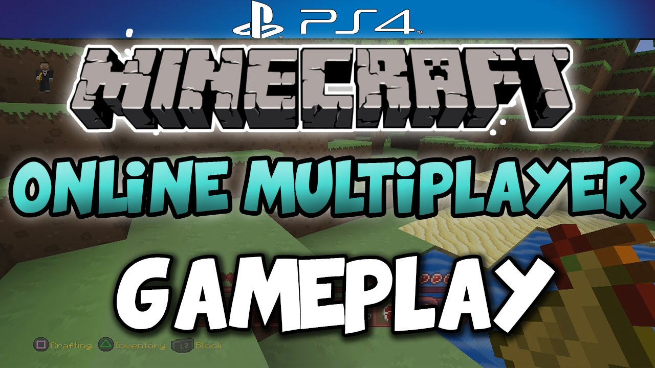 Minecraft PS8 GAMEPLAY - Online Mutliplayer PS8 Gameplay