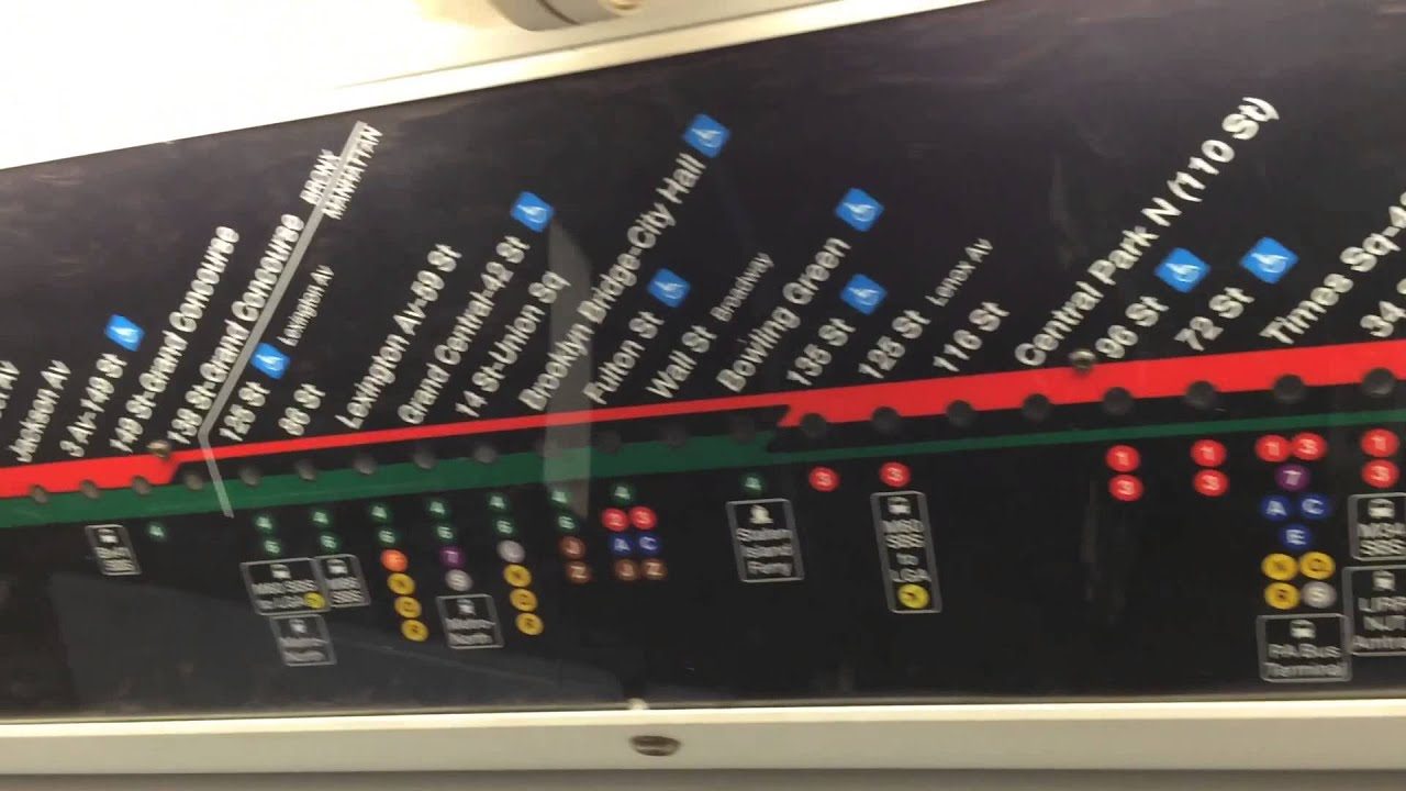 Strip Map On The 2 Train Youtube