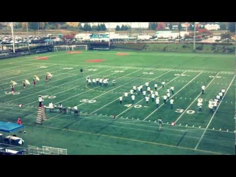 "Lincoln High School Marching Band 2012 ""Anthem"""