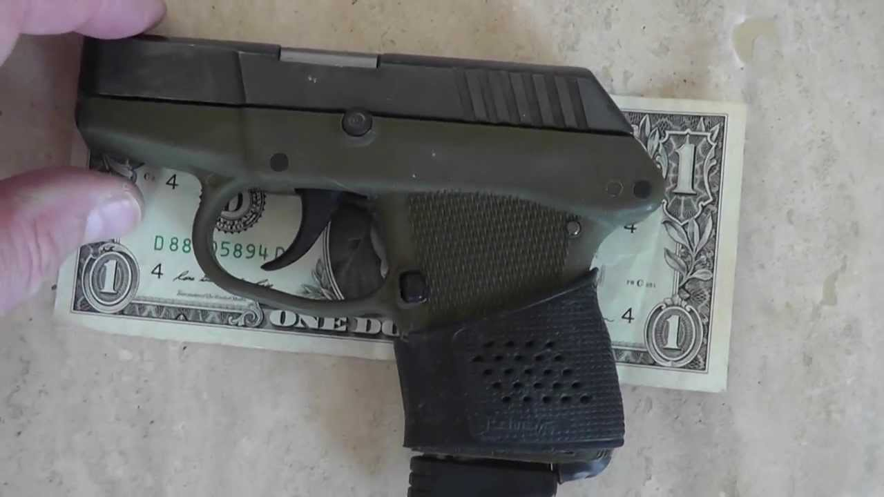 GLOCK 42 COMPARED TO RUGER LCP - YouTube