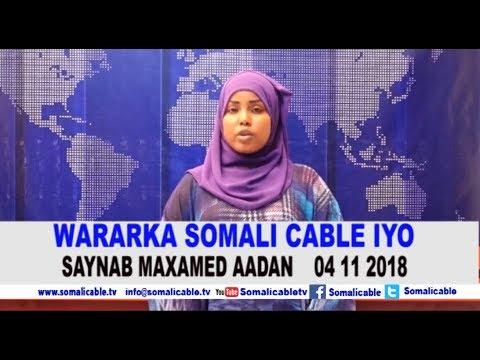 WARARKA SOMALI CABLE IYO SAYNABA MAXAMED AADAN 04  11 2018 1