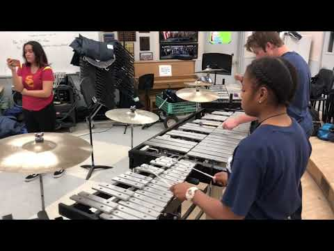 Mayfair High School MMC 2019 - Percussion Standstill