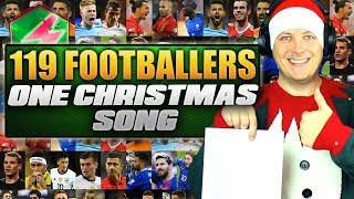 119 FOOTBALLERS 1 SONG! 🎄 Band Aid Christmas Football Songs