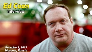 Эд Коэн, первое интервью в России, 2 декабря, 2015