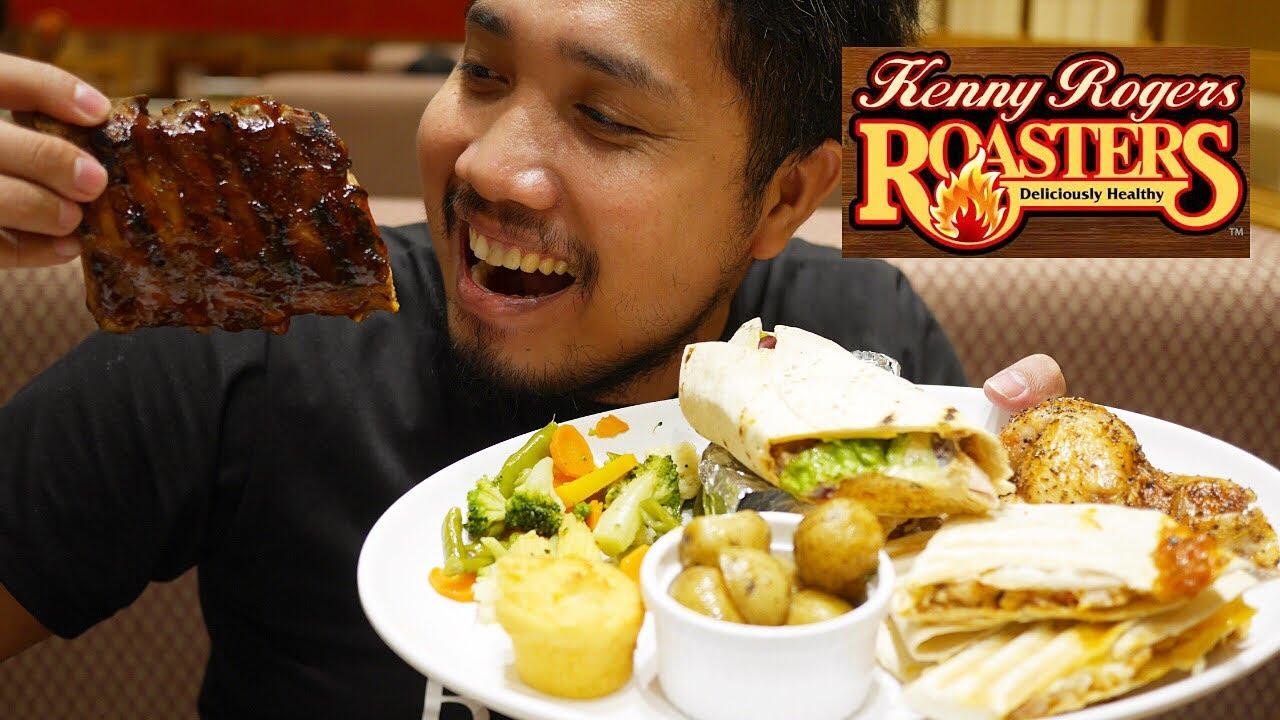 Kenny Rogers Roasters Date 2019 Roasted Chicken X Baby Back Rib X Quesadillas X Burritos Youtube