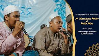 Download Lagu Al Ahmad - Ya Khoiro Hadi | Lailatus Sholawat Pernikahan M. Makin & Nailil Mina mp3