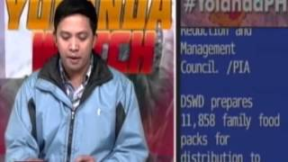 PTV YOLANDA WATCH: Panayam kay Rep. Josephine Sato, Occidental Mindoro - [Nov. 8, 2013]