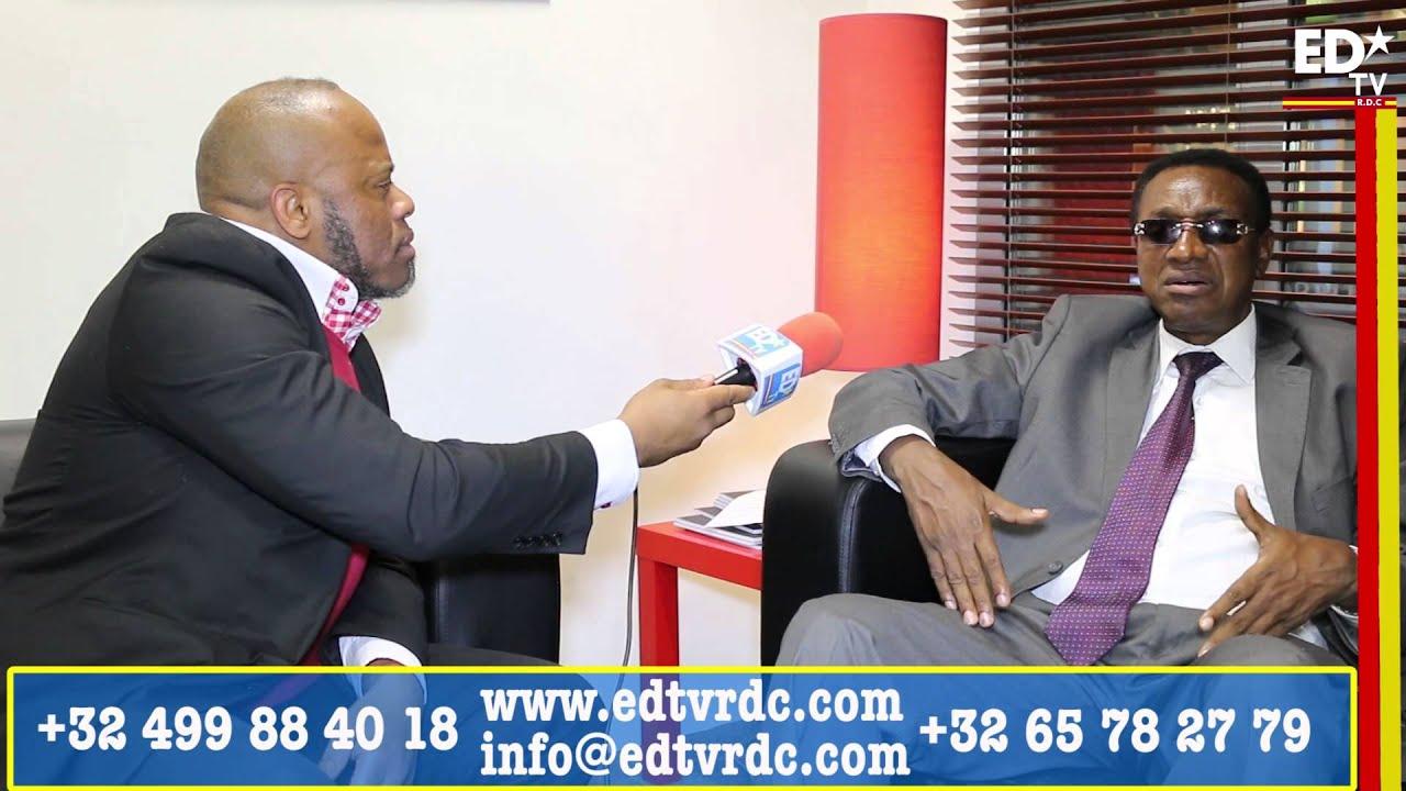 INTERVIEW EDTV AVEC BRUNO TSHIBALA LE SGA DE L'UDPS.