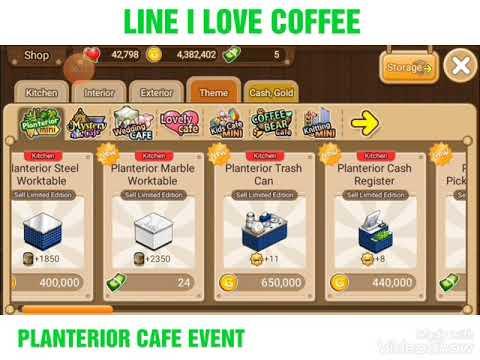 LINE I LOVE COFFEE PLANTERIOR EVENT !