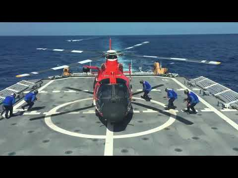 A Day in the Life of USCGC Hamilton