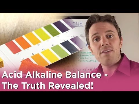 Acid Alkaline Balance - The Truth Revealed!