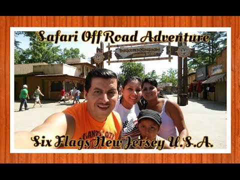 ¨Safari Off Road Adventure Six Flags New Jersey U.S.A.