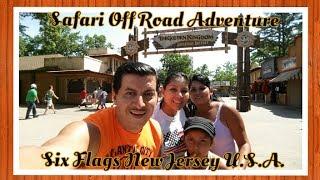 ¨Safari Off Road Adventure Six Flags New Jersey U.S.A.