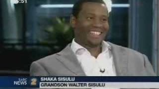 Shaka Sisulu & Luvuyo Mandela talk Cheesekids on Mandela Day 2010 on Morning Live