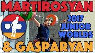 Simon Martirosyan and Samvel Gasparyan - Snatch and C&J (June 19)