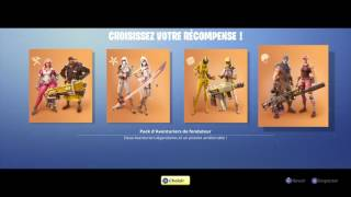 FORTNITE: PACK A 150euro OUVERTURE