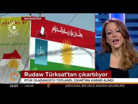 Barzani'nin yayın organı olarak bilinen Rudaw Türksat'tan çıkartılıyor
