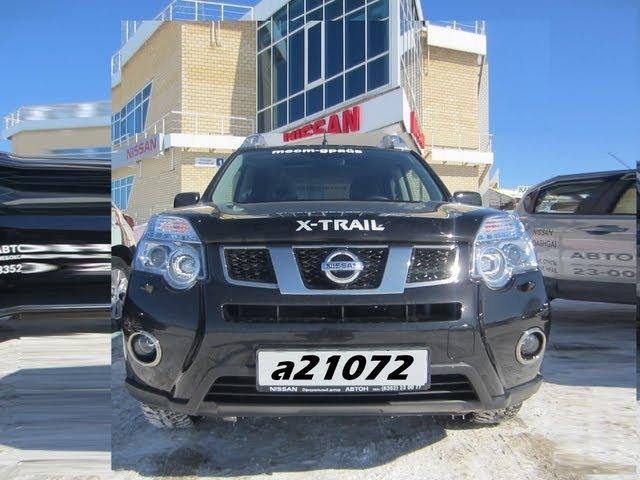 Nissan X-trail Тест-драйв.Anton Avtoman.